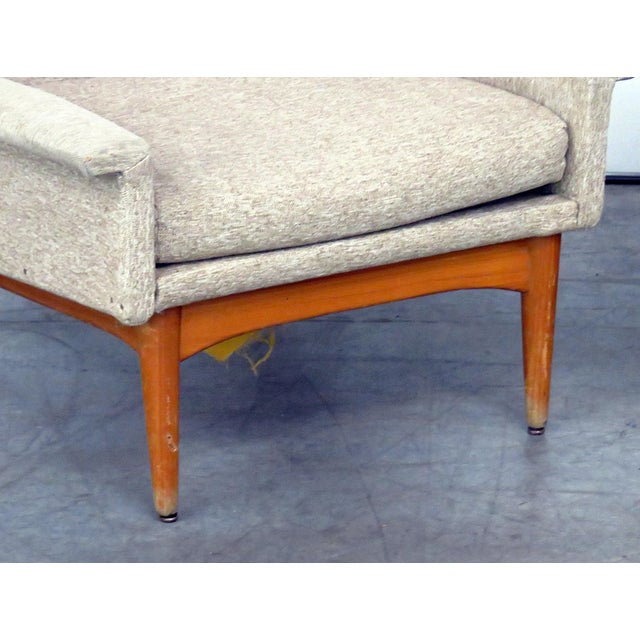 Danish Modern Pair of Danish Modern Lounge Chairs For Sale - Image 3 of 9
