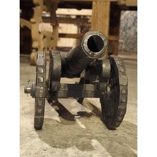 Circa 1900 Cast Iron Cannon Model Preview
