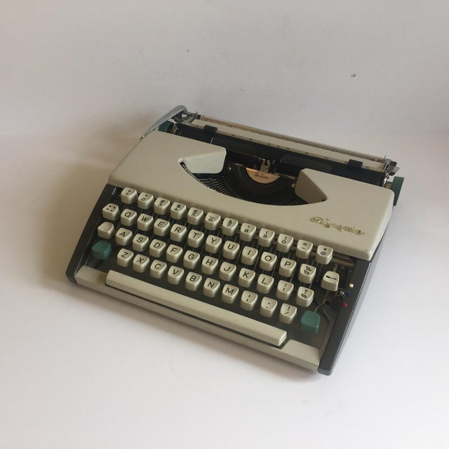Vintage Olympia De Luxe Typewriter Germany - Image 3 of 11