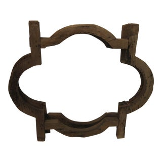 Mexican Colonial Window Frame For Sale