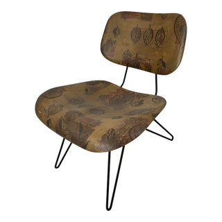 Mid-Century Hobart Wells Hairpin Lounge Chair for Lensol-Wells For Sale