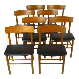 Danish Modern Teak Farstrup Dining Chairs- Set of 8 For Sale