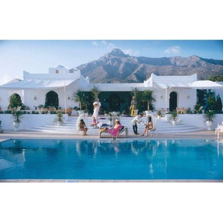 "Original Slim Aarons ""El Venero"" Photographic Print For Sale"