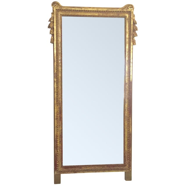 Antique French Gold Leaf Gilt Mirror - Image 1 of 9