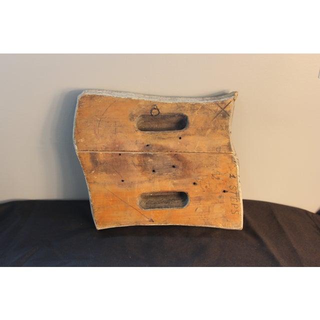 Antique Italian Paisley Fabric Mold - Image 4 of 5
