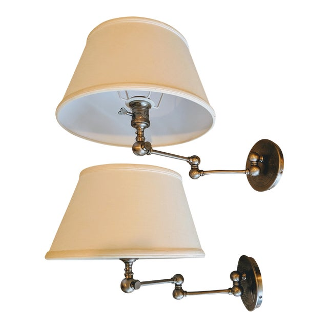 Visual Comfort E. F. Chapman Boston Sconces - a Pair For Sale