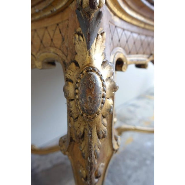 19th Century French Shell Design Table - Image 4 of 9