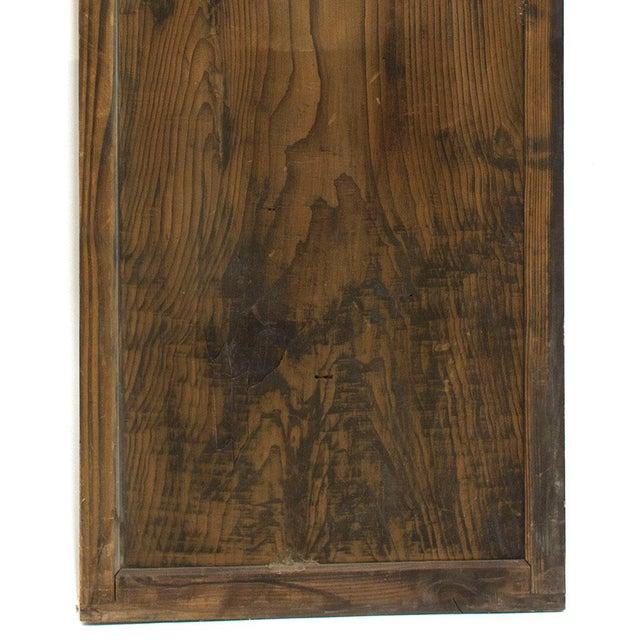 Japanese Itado Cedar Wooden Door For Sale - Image 4 of 9