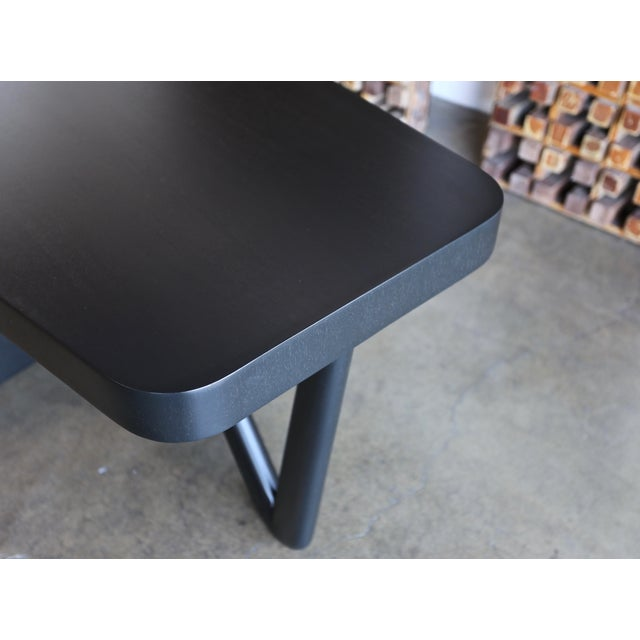 Mid-Century Modern Rare Desk by Paul Frankl for Johnson Furniture, Circa 1950 For Sale - Image 3 of 8