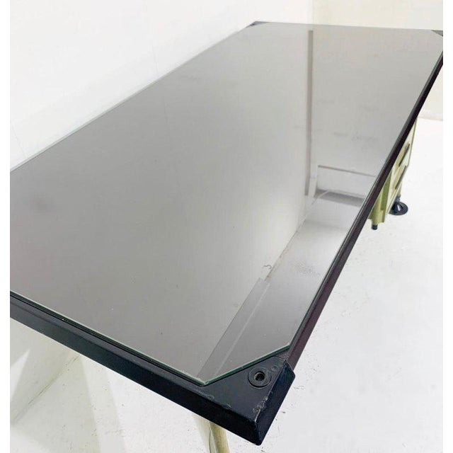 Italian Italian Modernist Spazio Desk by Studio Bbpr for Olivetti - 1959 For Sale - Image 3 of 9