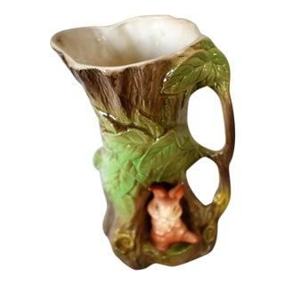 Vintage Withernsea Eastgate Pottery Rabbit Vase For Sale