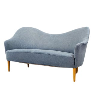 Mid-Century Modern Carl Malmsten Loveseat For Sale