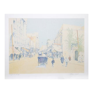 Guillaume Azoulay, Rue De L'Horloge, Serigraph For Sale
