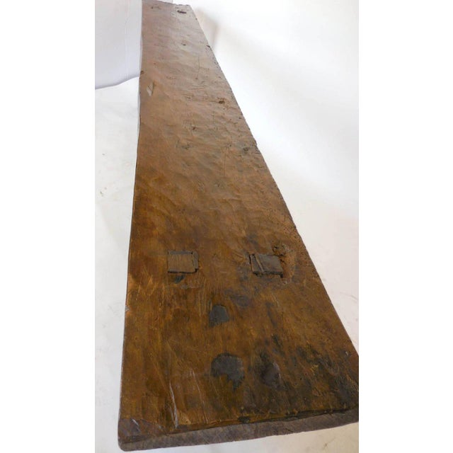 Wood 19th Century Wooden Console Table For Sale - Image 7 of 9