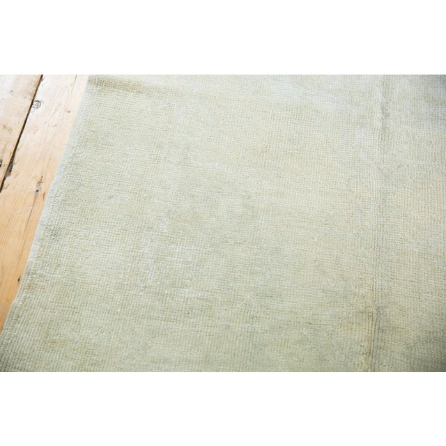 """Distressed Oushak Rug - 4'6"""" X 8' For Sale - Image 11 of 13"""