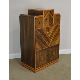 Williamsport Furniture Art Deco High Chest Preview