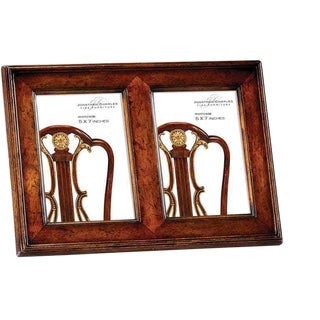 Jonathan Charles Country Farmhouse Collection Walnut 2 View Frame For Sale