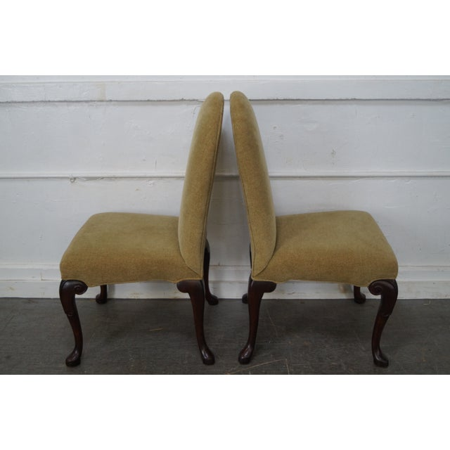 Ferguson Copeland Queen Anne Side Chairs - Set of 4 For Sale - Image 5 of 10