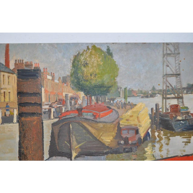 Impressionism Aileen Rose Dent Original Oil Painting For Sale - Image 3 of 8