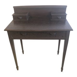 Nantucket Faux Painted Antique Writing Desk For Sale