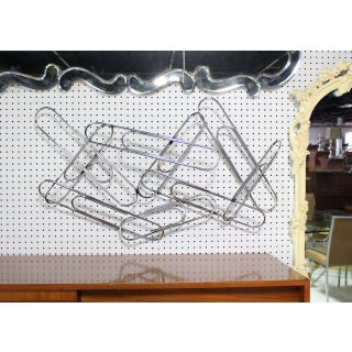 Curtis Jere Large Paper Clip Wall Sculpture Preview