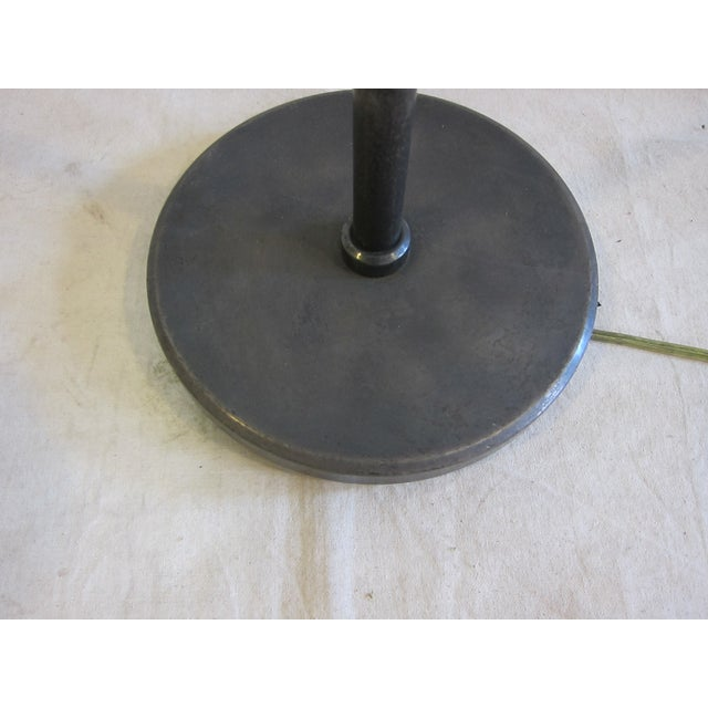 Articulating Industrial-Style Steel Floor Lamp - Image 8 of 8
