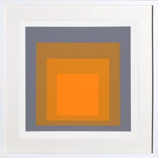 Josef Albers - Portfolio 2, Folder 24, Image 1 Framed Silkscreen For Sale