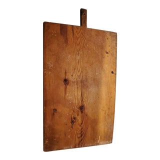 19th Century Rustic Turkish Pine Cutting Board For Sale