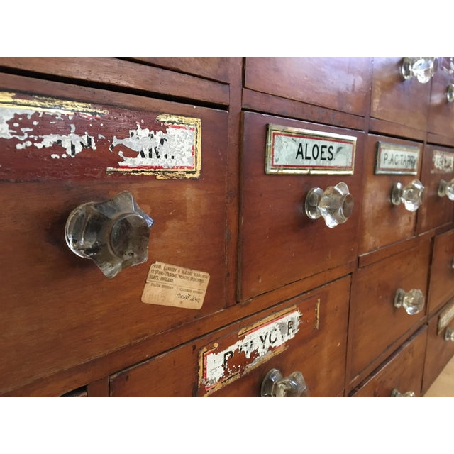 1800s English Apothecary Cabinet - Image 11 of 11