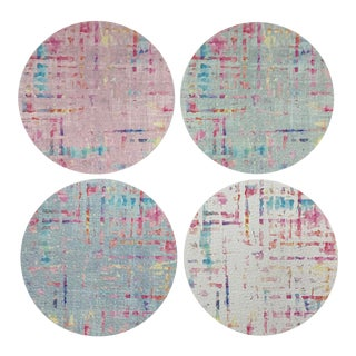 Coco Coasters, Set of 4 For Sale