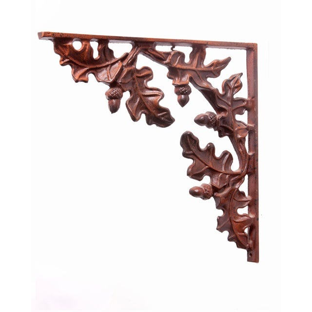 1990s Cabin Leaf Brackets - Set of 4 For Sale In Los Angeles - Image 6 of 9