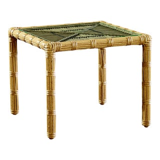 Celerie Kemble - Rafter Outdoor End Table For Sale
