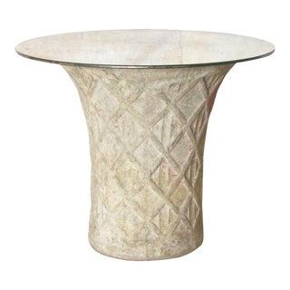 Vintage French Concrete Planter Table - a Pair For Sale