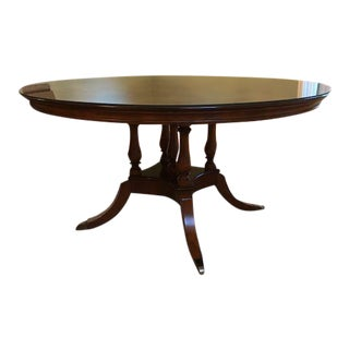 Traditional Thomasville Irving Park Dining Table For Sale