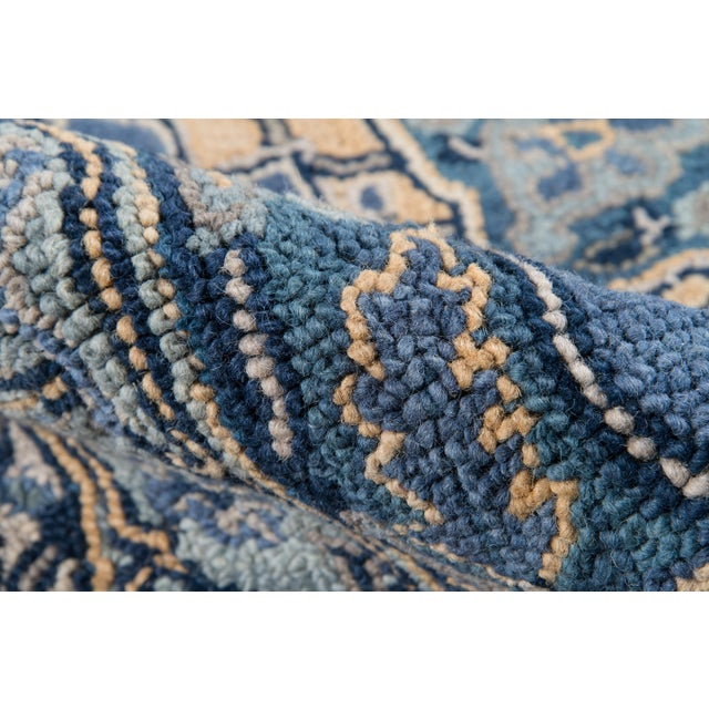 Ibiza Denim Hand Tufted Area Rug 3' X 5' For Sale - Image 4 of 8