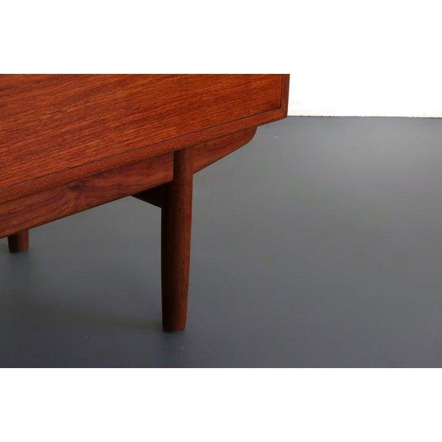 Wood Borge Mogensen for Søborg Møbelfabrik Teak and Oak Chest Vanity / Short Dresser, Denmark For Sale - Image 7 of 10