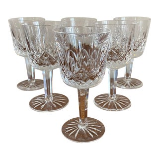 Waterford Crystal Port Wine Glasses - Set of 6 For Sale