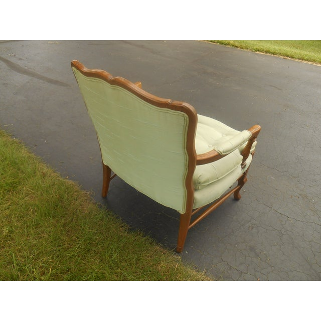 North Hickory Furniture Co. Lounge Chair For Sale - Image 5 of 5