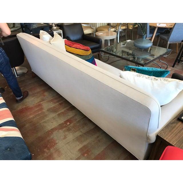 Modern Custom Ivory Sofa - Image 5 of 5