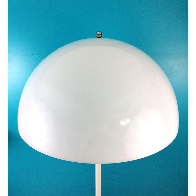 Danish Modern Verner Panton Dome Panthella Louis Poulsen Mid Century Modern Floor Lamp For Sale - Image 3 of 9