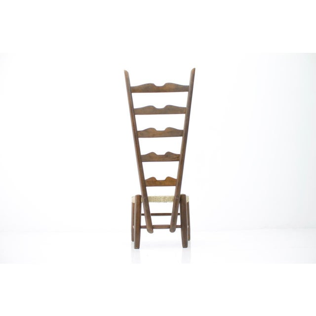 Gio Ponti Fire Side Chair, Italy, 1939 For Sale - Image 6 of 11