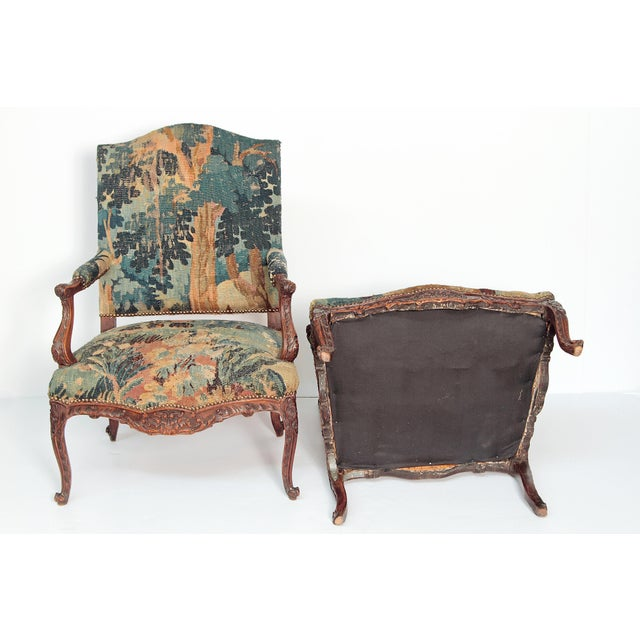 Pair of Period Louis XV Fauteuils - Image 9 of 9
