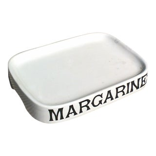 Parnell English Margarine Tray For Sale