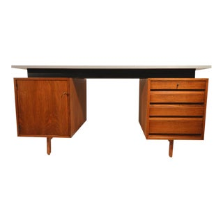 Jos De Mey Writhing-Desk Executed by Van den Berghe-Pauvers, Ghent For Sale