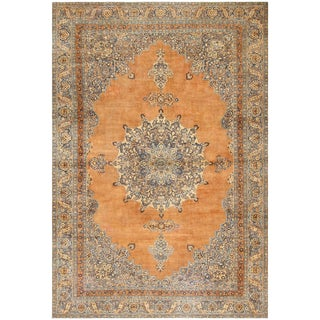 Antique Persian Khorassan Rug - 10′7″ × 15′9″ For Sale