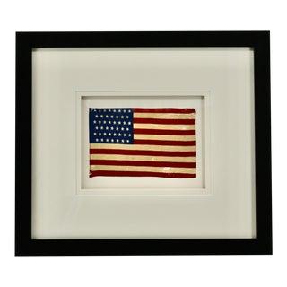 Antique Silk 45 Star American Flag Circa 1896 For Sale