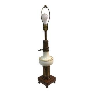 Vintage Lenox Porcelain Stiffel Table Lamp For Sale