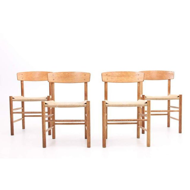 Børge Mogensen J39 Chairs - Set of 4 - Image 2 of 4
