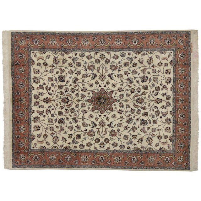 Early 21st Century Contemporary Persian Style Rug With Traditional Style - 7′10″ × 10′3″ For Sale - Image 5 of 6