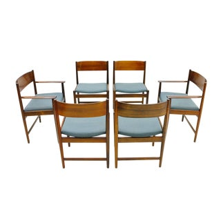 Set of Six Kurt Ostervig Dining Chairs for Sibast, Denmark 1960s For Sale